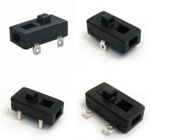 on-off Slide Switch with PCB /Solder Terminal for Electric Toy, Kitchenware