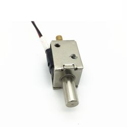DC12V Stroke 4mm Miniature Cylindrical Push-Pull Solenoid Lock Dsn-0620-2 Electromagnet